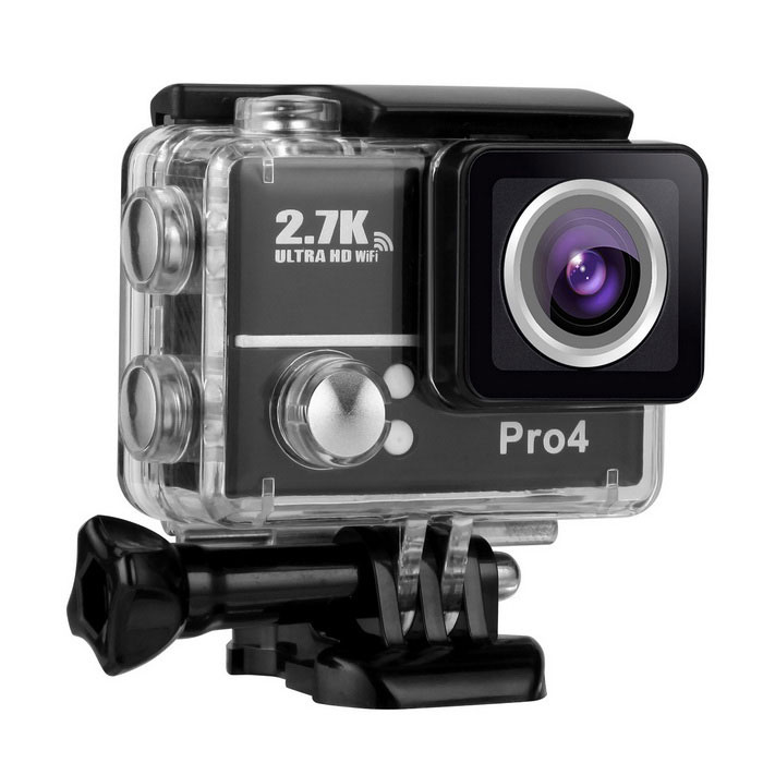Por4 2 Inch 2.7K HD 1080P 14.0MP WiFi DV Action Sports Camera Video Camcorder