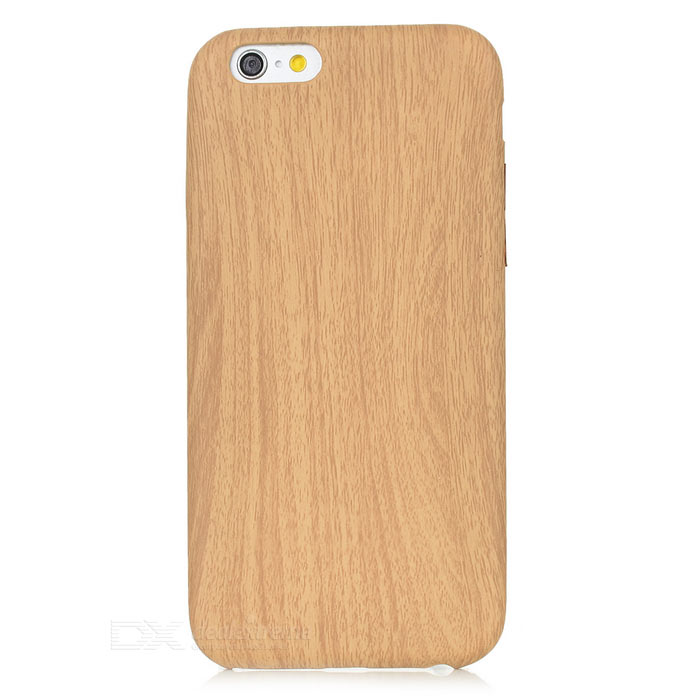 S-What Wood Grain Pattern Back Case for IPHONE 6 / 6S - Wood
