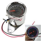 IZTOSS B714 Motorcycle LED Backlight Tachometer Speedometer - Silver