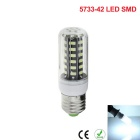 E27 5W 42-5733 SMD Cold White Bright Energy-Saving LED Corn Light
