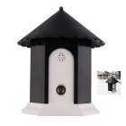 Outdoor Ultrasonic Anti Barking Control Birdhouse Bark Stop Sonic Dog Supplies Trainings Aids Black
