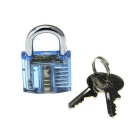 Mini Inside-View Pick Skill Training Practice Padlock Lock (2PCS)