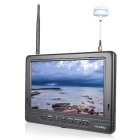 "FPV-718B 7"" 5.8GHz 32CH 1024x600 Super Slim Built-in Battery FPV Monitor - Black"
