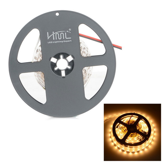 HML High Light 24W 2400lm 3300K 300-LED Warm White Light Strip (5m)