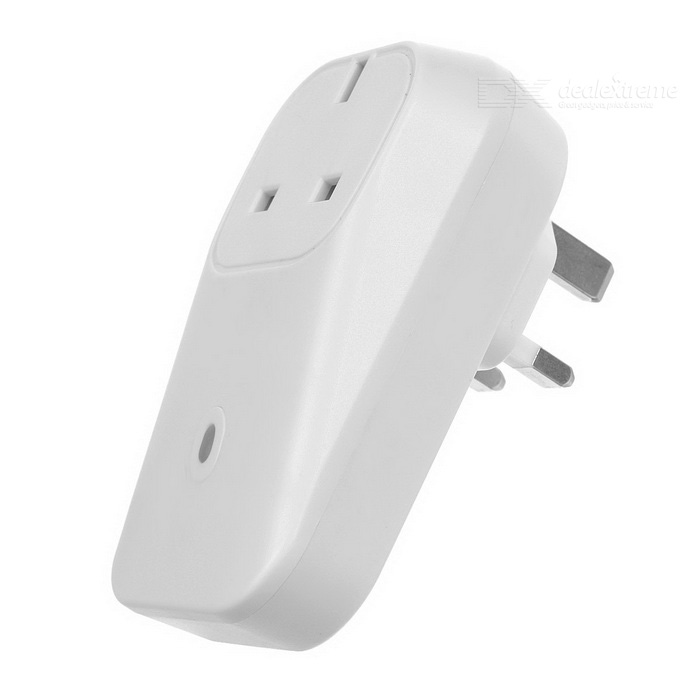 10A / 200W Wi-Fi Smart Wall Power Plug w/ USB Port - White (UK Plug)