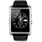 F8 Square Dial Smart Watch Phone w/ Bluetooth Call, Sleep Monitoring