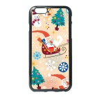 Children's Painting Christmas Santa Claus Style TPU Back Case for IPHONE 6 / 6S