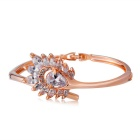 Xinguang Women's Fashionable Crystal Bracelet - Rose Gold