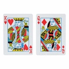 "Buy Magician Prop Change ""3 inch ""5 Poker Card - Red + White"