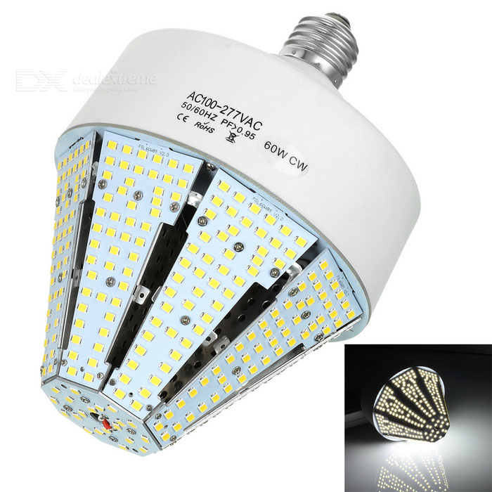 60W 420-3528 SMD LED 8000lm Cold White LED Octagonal Warehouse LightE27<br>Form  ColorWhiteColor BINCool WhiteMaterialABSQuantity1 DX.PCM.Model.AttributeModel.UnitPowerOthers,60WRated VoltageOthers,AC 100~277 DX.PCM.Model.AttributeModel.UnitConnector TypeE27Chip BrandOthers,N/AEmitter Type3528 SMD LEDTotal Emitters420Actual Lumens8000 DX.PCM.Model.AttributeModel.UnitColor Temperature6000KDimmableNoBeam Angle360 DX.PCM.Model.AttributeModel.UnitCertificationCE, RoHSPacking List1 x Light1 x English user manual<br>
