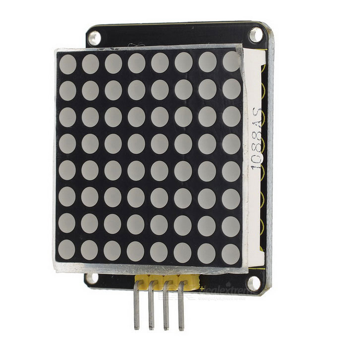 2015 Uusi keyestudio I2C 8x8 LED Matrix HT16K33 Lattice Module
