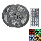 5050 Waterproof RGB Light Strip + 44-Key Controller + 6A EU Plug Power Supply (2 Rolls)