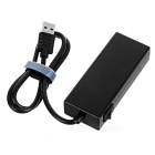 4-Port USB 3.0 HUB Card Reader Support TF / SD Card - Black (Max. 1TB)