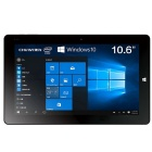 CHUWI VI10 OS Win10 Intel Z8300 Quad-Core Tablet PC w/ 10.6'' IPS 2GB RAM 64GB ROM - Black (US Plug)