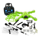 JJRC H26W 2.4GHz 4-CH R/C Quadcopter Drone w/ Gyro & 360' Tumble & 0.3MP Wi-Fi Camera & LED - Green