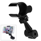 Dulisimai Rotating Car Mount Phone / GPS / DVR Holder for IPHONE / Samsung / Xiaomi + More - Black