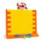 Educational Parent-Child Happy Breaking Down Wall Games Toys - Yellow