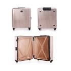 "26 ""Trolley Valise Armoire w / Roulettes pivotantes - Champagne Or"