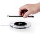 MO.MAT Qi Wireless Charger for Smart Phone - Black + Transparent
