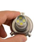 60W Auto Car H4 Socket White 12-LED DRL Driving Light Bulb Foglight
