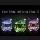 7 OZ LED Plastic Cup Inductive Rainbow Cup Set - Transparent
