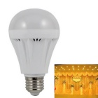 E27 7W 520lm 24 x SMD 3528 LED 3000K Warm White Light Lamp Bulb (220V)