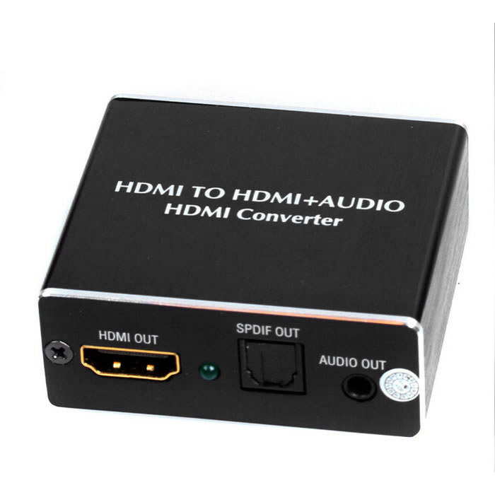 поддержка V1.4 HDMI 4K * 2K HDMI Audio Extractor HDMI к SPDIF конвертер