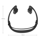Esportes Wireless Smart Bluetooth Stereo Headset - Preto