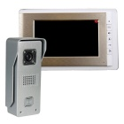 ROCS Metal Anti-Rain Cmos Outdoor Station + HD 7 inch Indoor Monitor Video Doorbell Kit