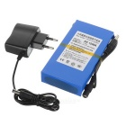 "DC 1298A 12.6V ""9800mAh"" Large Capacity Polymer Li-ion Battery w/ Switch & EU Plug Power Adapter"