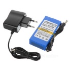 "DC 12300 12.6V ""3000mAh"" Rechargeable Polymer Li-ion Battery w/ Switch & EU Plug Power Adapter"
