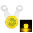 CTSmart Cycling 3-Mode Yellow Light Bike Safety Light - Yellow