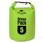 NatureHike Outdoor Sports Rafting Waterproof Storage Bag - Green (5L)