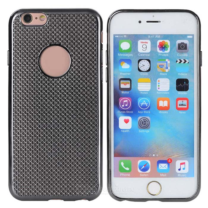 Electroplated Protective Case for IPHONE 6 PLUS / 6S PLUS - Black