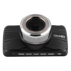 "T300 1080P 3"" TFT 26MP 140' CMOS Loop Record Car DVR - Black + Silver"