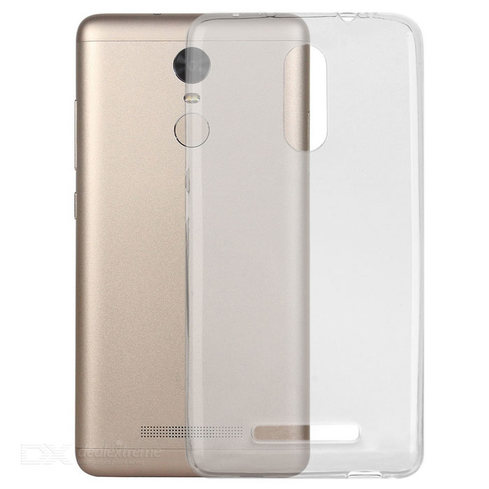 Protective Back Case for Xiaomi Redmi Note 3, Note 3 Pro - TransparentTPU Cases<br>Form ColorTransparentModelN/AMaterialTPUQuantity1 DX.PCM.Model.AttributeModel.UnitShade Of ColorTransparentCompatible ModelsXiaomi Redmi Note 3 / Note 3 ProPacking List1 x Case<br>