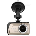 Ordro D1 150 graus Wide Angle Night Vision HD 1080p carro DVR - Champagne Preto +