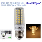 YouOKLight E27 5W LED Corn Bulb Lamp Warm White Light 1600lm 72-SMD