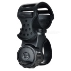 360-Degree Rotatable Cycling Bicycle Bike Mount Holder Clamp for LED Flashlight / Torch - Black