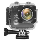 "M20 2"" LCD 4K Ultra-High-Definition Wi-Fi Outdoor Sports FPV Mini DV Video Camera Camcorder - Black"