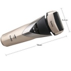 KEMEI KM-8102 Professional Men's Shaver w/ Blades - Golden + Champagne