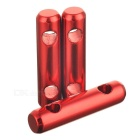 Tent Awning Rope Fastener Guy Line Runner Tensioner - Red (3PCS)