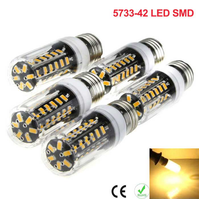 E27 5W 42-5733 SMD LED Energy-Saving LED Corn Light Warm White (5PCS)