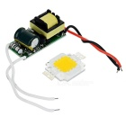 JRLED Square 10W 9-LED 800lm 3300K Dimmable Warm White Light Source