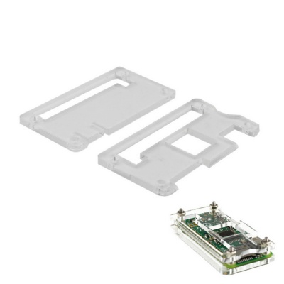 Protective Acrylic Case for Raspberry Pi Zero - Transparent