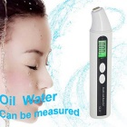 Skin Moisture Tester Displays Oil Moisture Test Pen - White