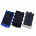 ismartdigi MPSB-12000 8000mAh Solar Power Bank for Cellphone - Black