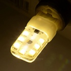 G9 2W 14-3528 SMD 180lm 3500K Warm White Light - White + Orange