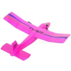 FX FX-805 Break-Resistant Foam Fixed-Wing R/C Airplane Toy - Deep Pink