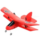 FX FX-808 Double-Layer Fixed-Wing 2.4GHz R/C Glider Airplane Toy w/ LED Colorful Light - Red